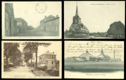Grand Lot De 400 Cartes Postales De France ( Type Drouille ) Groot Lot Van 400 Postkaarten Frankrijk (brol) 25 X 4 Scans - Postcards