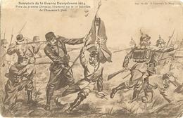Prise Du Premier Drapeau Allemand Par Le 1er Bataillon De Chasseurs à Pied ( Att Un Pli Ce Voix Mal)64 - Oorlog 1914-18