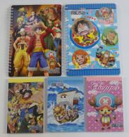 One Piece : 2 + 3 Notebooks - Merchandising
