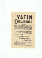 VATIN CHAUSSURES DIFFERENTES SUCCURSALES - Publicités
