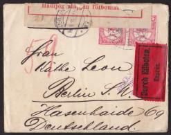 Ei_ Ungarn - Zensur Brief Eilboten Express - Nach Berlin 1915 - Brieven En Documenten