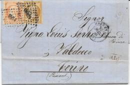 1860 HAGUENAU X TORINO - 1849-1876: Classic Period