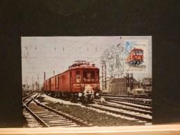 63/311   MAXI CARTE  BELGE - Trains