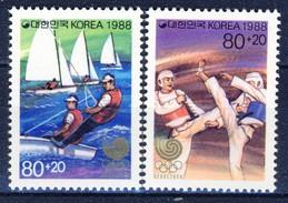 #Korea South 1988. Olympic Games. Michel 1551-52. MNH(**) - Corea Del Sud