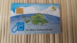 Phonecard  60 Units Sint Maarten  Used Rare - Antilles (Netherlands)