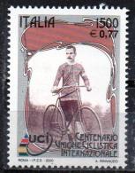 PIA -  ITALIA -  2000  : Centenario Dell´ Unione Ciclistica Internazionale  -   (SAS  2474) - Ciclismo