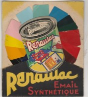 - Très Belle  Publicité Pour Peinture Rénaulac  - 011 - Pubblicitari