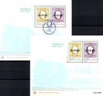 Europäische Marken 1980 Insel Madeira Block 1 ** + SST 10€ Bloques Hojitas Hb Blocs Ships M/s History Sheets Bf Portugal - Funchal