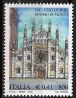 PIA -  ITALIA -  2000  : 700° Della Costruzione Del Duomo Di Monza  -   (SAS  2483) - Cristianismo