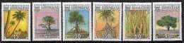 TUVALU SG568/73 1990 TROPICAL TREES MNH