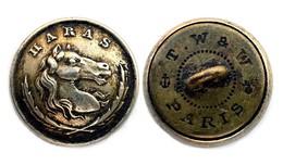 Bouton HARAS, Vétérinaires Militaires (1852-1870). Napoléon III°. 15 Mm - Buttons