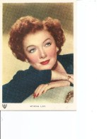 Acteurs - Myrna Loy ( CP Neuve D'une émission Italienne à Voir) - Acteurs