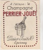 -  Publicité 170mm X 140mm  Pour Champagne PERRIER-JOUËT  - 017 - Pubblicitari
