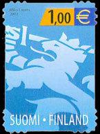 Finland 2002 Set - Heraldic Lion (Blue)
