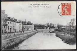 CPA 35 - Redon, Quai St-Jacques - Redon