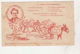 -  Publicité  Humoristique Par Henri DREUX, Défenseur Du Contribuable - 022 - Reclame