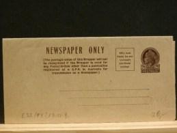 63/343  NEWSPAPER ONLY  XX - Postal Stationery
