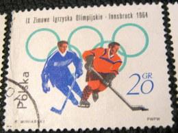 Poland 1964 Winter Olympic Games - Innsbruck, Austria 20gr - Used - 1944-.... Republic