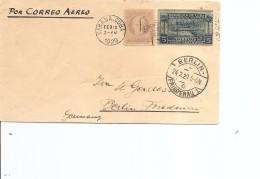 Cuba ( Lettre Par Avion De 1929 De LaHavane Vers L'Allemagne à Voir) - Cuba