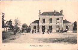 41 - SELLES Sur CHER -  La GARE - Selles Sur Cher