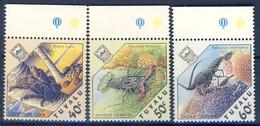 #Tuvalu 1987. Crabs. Michel 477-79. MNH(**)