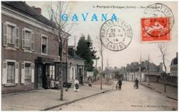 72 PARIGNE-l'EVEQUE - Rue Principale   (Recto/Verso) - Frankrijk