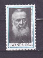 9] 1 Timbre 1 Stamp ** Rwanda Cardinal Lavigerie Religieux Religious Religion - Rwanda
