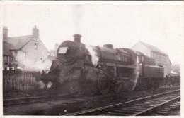 Railway Photo BR 4MT 75053 Rhyl Shed C1960 Standard 4-6-0 Loco MPD - Trains