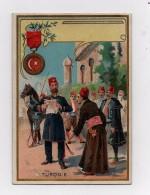 CHROMO Insigne Décoration Médaille Turquie Le Medjidié - Non Classés