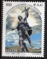 """PIA -  ITALIA -  2000  : 100° Della Posa In Opera Del """"Monumento A  Gesù Redentore"""" -   (SAS  2485) - Cristianesimo"""