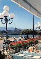 GENEVE  LA RADE VUE DE L'HOTEL BEAU RIVAGE - GE Geneva