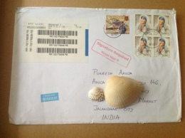Mother Teresa Postal Used Cover - Mother Teresa