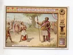 Chromo - Liébig - David Et Goliath - Liebig