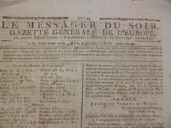 Journal Révolution Le Messager Du Soir Gazette Générale De L'Europe 26/03/1797 - Kranten