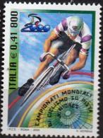 PIA  -  ITALIE  -  2000  :  Campionati Mondiali Di Ciclismo Su Pista Juniores   (Yv   2491 ) - Ciclismo