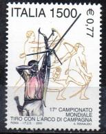 PIA  -  ITALIE  -  2000  : 17° Campionati Mondiali Di Tiro Con L´ Arco - Tiro Di Campagna    (Yv   2490 )