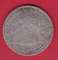 Espagne - 1 Pesetas - 1900 - Argent - Other