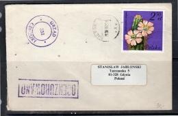 OCENZUROWANO URZAD 258 CENZURY Malbork > Gdynia 1982 (p45) - Covers & Documents