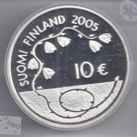 FINLAND 10 EURO Zilver 2005 - 60 Jaar Vrede En Vrijheid - PROOF In Capsule - Finlande