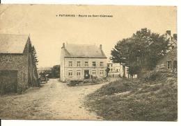 Gedinne Patignies Route De Sart Custinne  Edit Vancimont Texte Verso Parle De Malvoisin - Gedinne