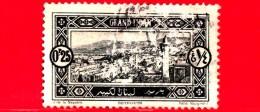 LIBANO - Usato - 1925 - Beyrouth - Veduta - 0.25 Rovinato - Libano