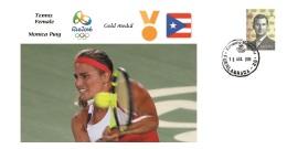 Spain 2016 - Olympic Games Rio 2016 - Gold Medal Tennis Monica Puig Puerto Rico Cover - Juegos Olímpicos