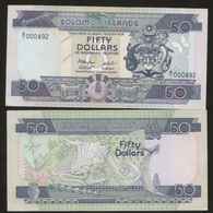 Solomon Islands 50 Dollars 1986 Pick 17 UNC - Salomonseilanden