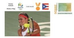 Spain 2016 - Olympic Games Rio 2016 - Gold Medal Tennis Monica Puig Puerto Rico Cover - Otros