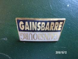 Pin's Serge Gainsbourg - Música