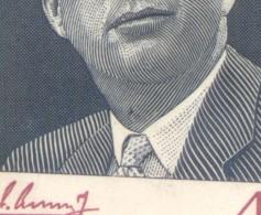 RARA VARIEDAD FUERA DE CATALOGO PUNTO EN EL CUELLO JOHN FITZGERALD KENNEDY HOMENAJE CALCOGRAFIA PAPEL SATINADO NACIONAL