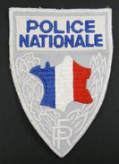 INSIGNE ECUSSON TISSU BRODÉ POLICE NATIONALE - Polizia