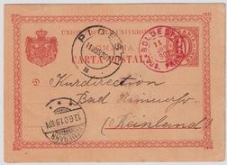 1901, Roter Stempel! Auf GA , #6257 - 1881-1918: Charles I