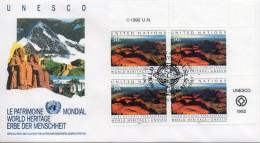 Nations Unies. New York. Enveloppe Fdc. Uluru National Park. 1992 - New York – UN Headquarters