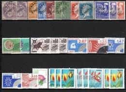 LOT DE 30 PREOS / ENTRE 1922 ET 2011 SANS GOMME - 1989-....